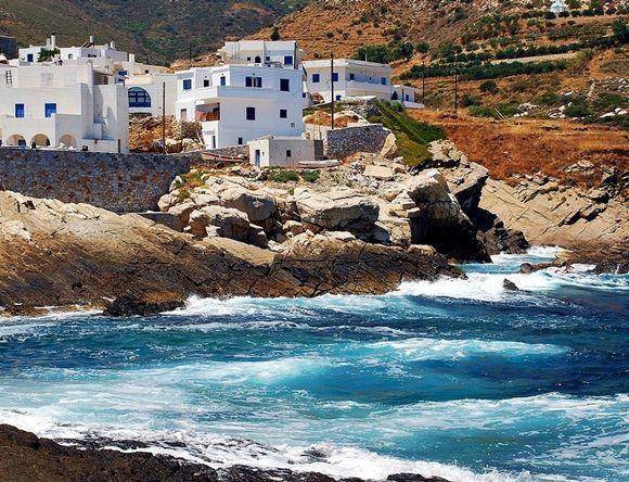 sea and village