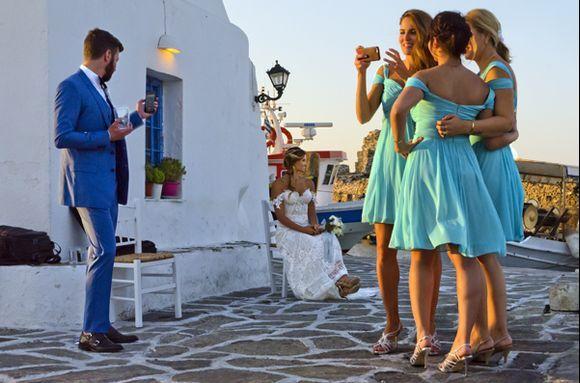 A wedding in Naoussa