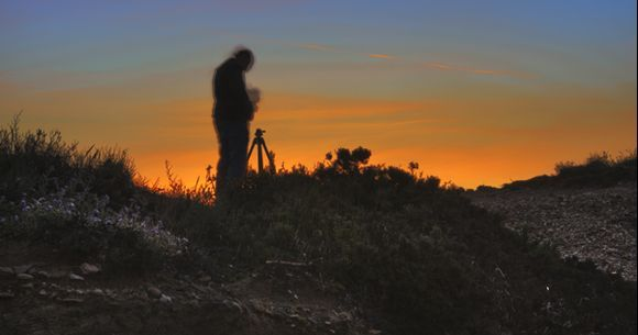 Sunrise at Agios Fokas