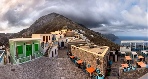 Before the sunrise - Olympos Houses