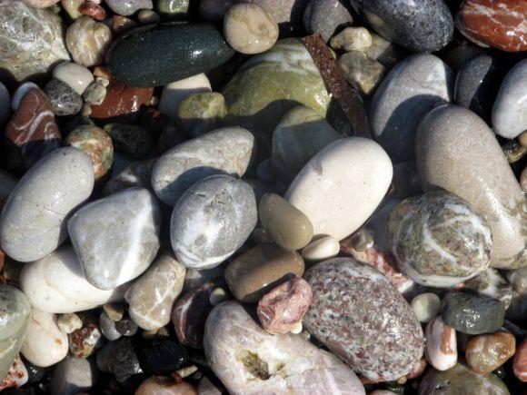 Pebbles on Ixia Beach RHODES