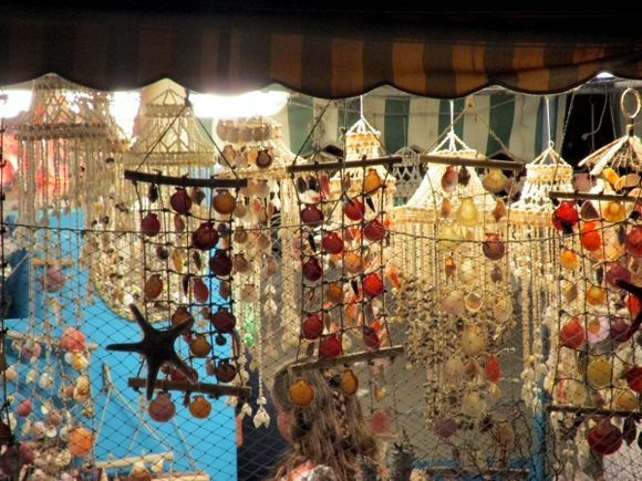 Rhodes Old Town at Night 2015  Shells on sale