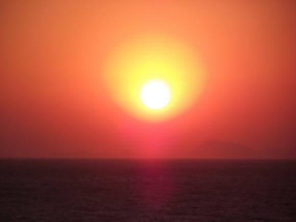 Sunset in Rhodes