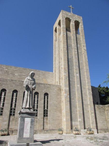 Francis of Assisi Church Rhodes 2015