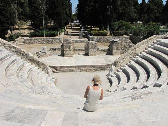 ancient theatre in Kos
