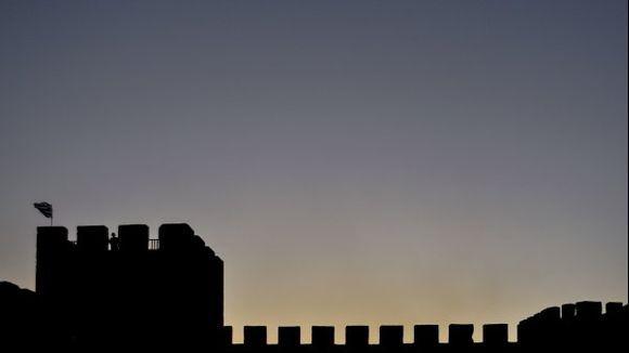 Frangokastello at dusk