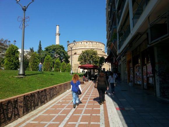 Thessaloniki Rotonda monument