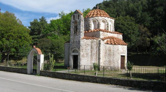 Rhodes Salakos Saint Nicholas Foundoukli Church