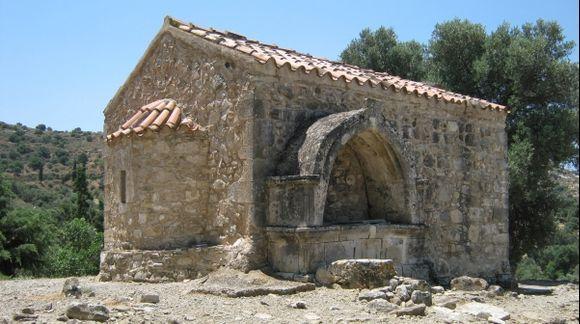 Agia Triada Minoan Palace near Phaestos