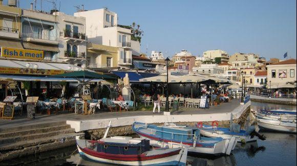 Lassithi Agios Nokolaos town