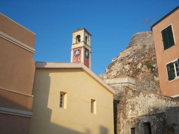 Corfu Town Old Fortress