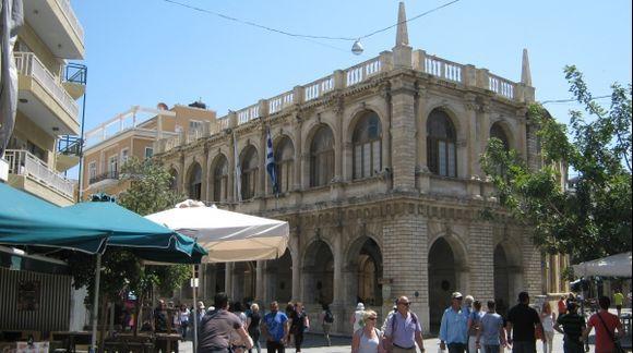 Crete Heraklion Venetian Loggia