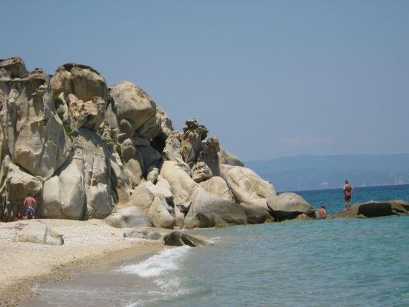 Halkidiki Karydi beach