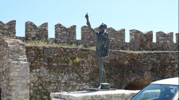 Nafpaktos Statue of Cervantes