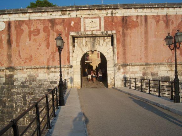 Corfu old fortress