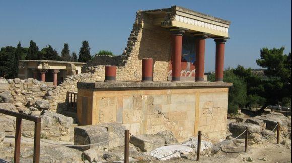 Crete Minoan Palace of Knossos