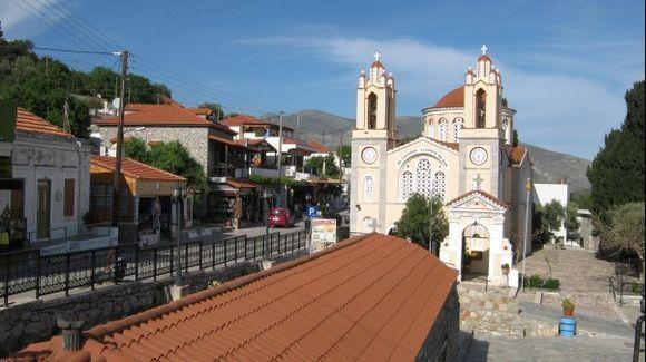 Rhodes Siana village Saint Panteleimon church