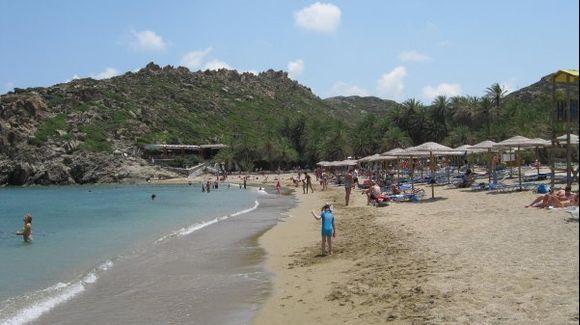 Crete Lassithi Vai beach