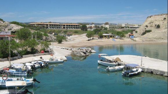 Rhodes Kolympia beach