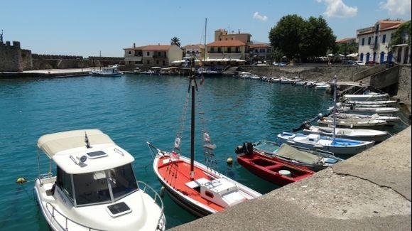 Nafpaktos Town port