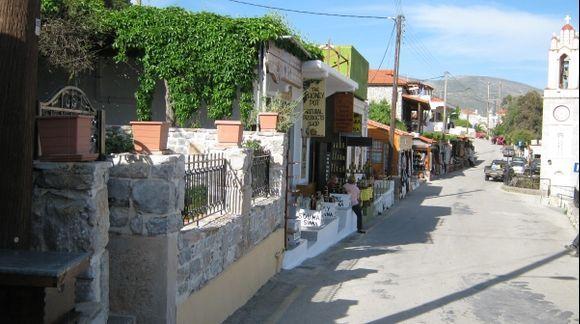 Rhodes Siana Main Street