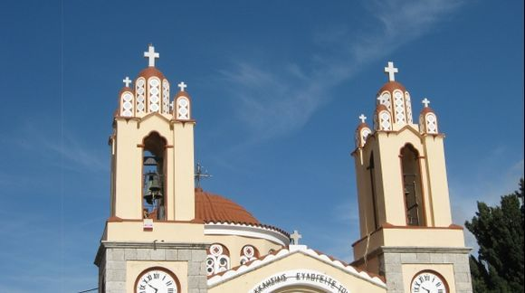 Rhodes Siana Saint Panteleimon Church
