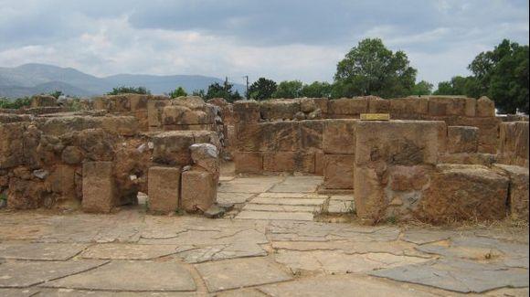 Crete Malia village Minoan Palace