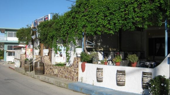 Rhodes Embonas Alonia tavern