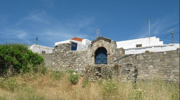 Rhodes Lachania village near Hohlakas