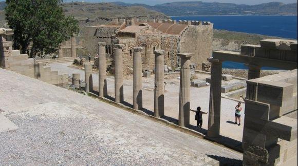 Rhodes Acropolis of Lindos
