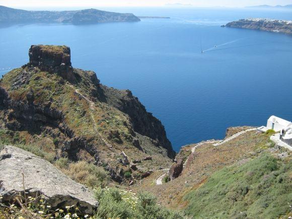Santorini Imerovigli Skaros Rock