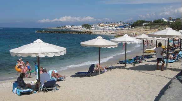 Crete Anissaras beach