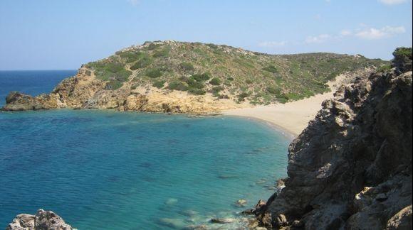 Crete Vai beach