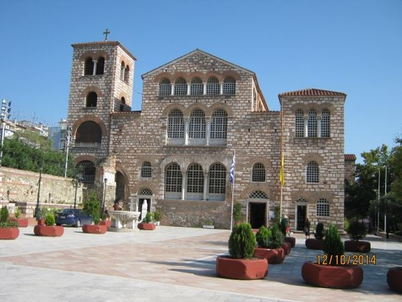 Thessaloniki Church of Agios Dimitrios