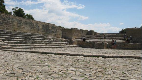 Crete Phaestos Minoan Palace