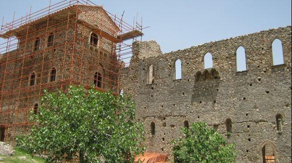 Peloponnese Mystras Palace of Despots