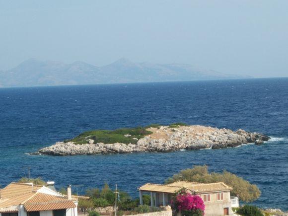 Zakynthos Mikro Island North of Makris Gialos beach