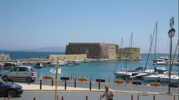 Crete Heraklion Koules Fortress