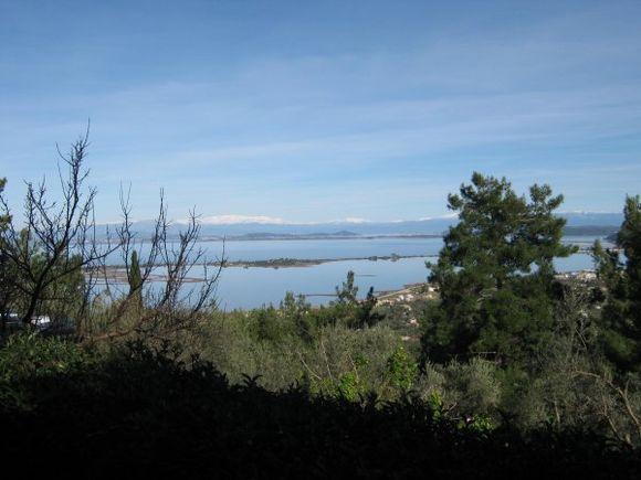 Sea lakes in winter