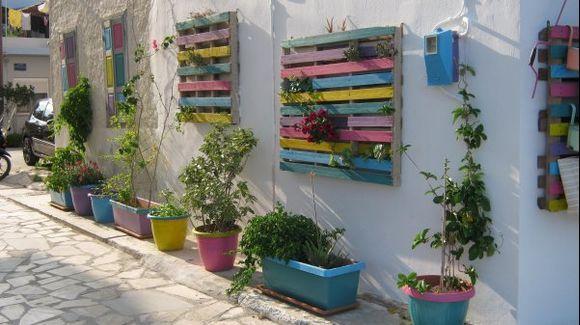 Crete Lassithi Ierapetra town street