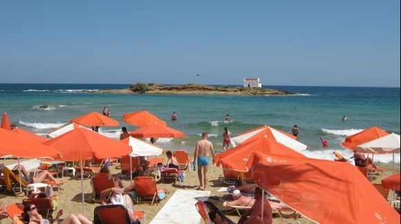 Heraklion Malia beach