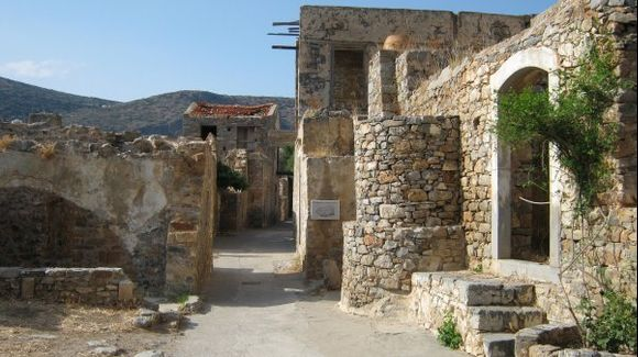 Crete Spinalonga Islet
