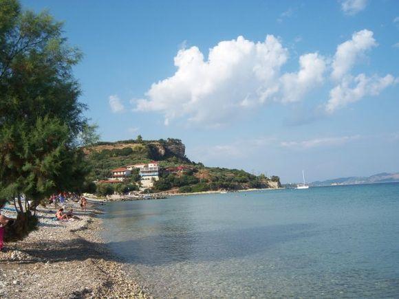 Zakynthos Limni Keriou beach