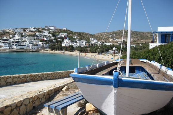 Port beach, DonoussaPort beach,