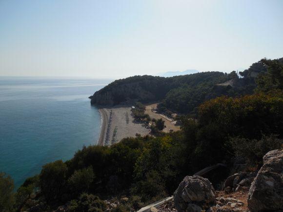 Tsabou beach, Samos island