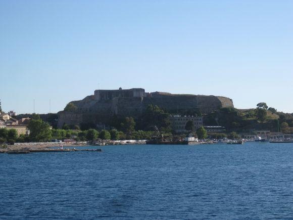 Corfu Town new fortress