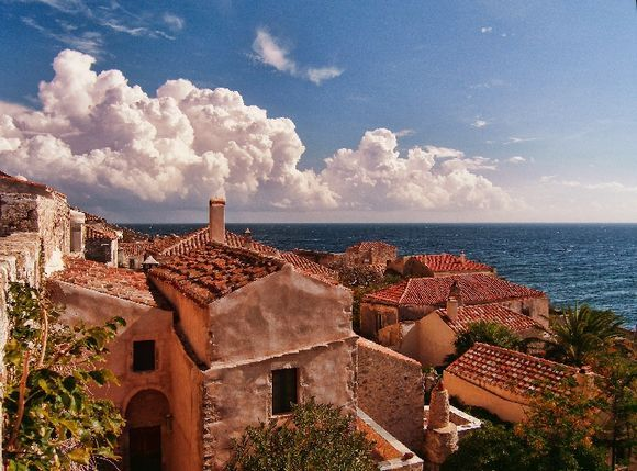 Monemvasia, seaside view