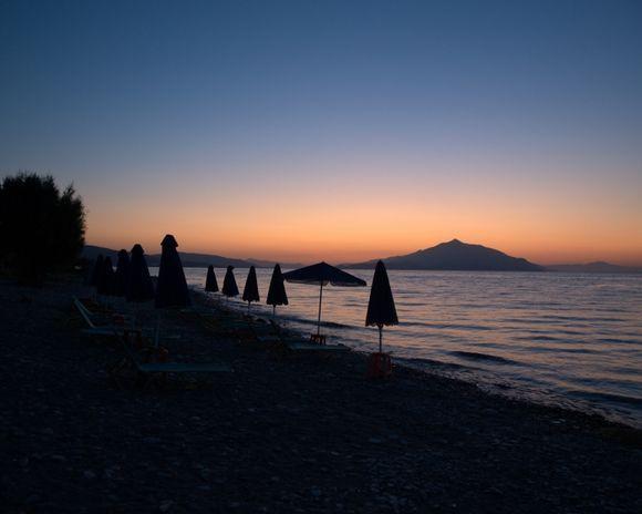 sunrise at Heraion Beach