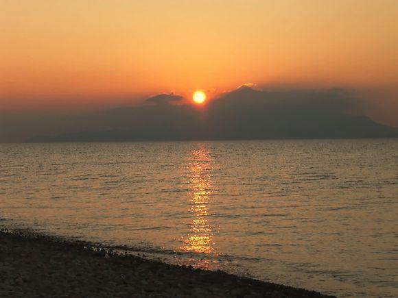 heraion sunrise