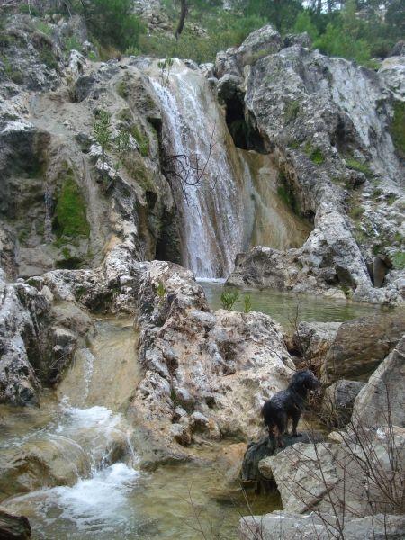 Waterfall near Lardos